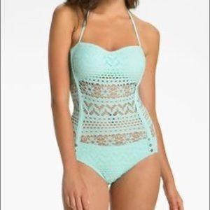 Robin piccone crochet swim suit